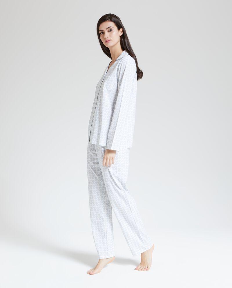 Set pigiama fantasia cuori donna