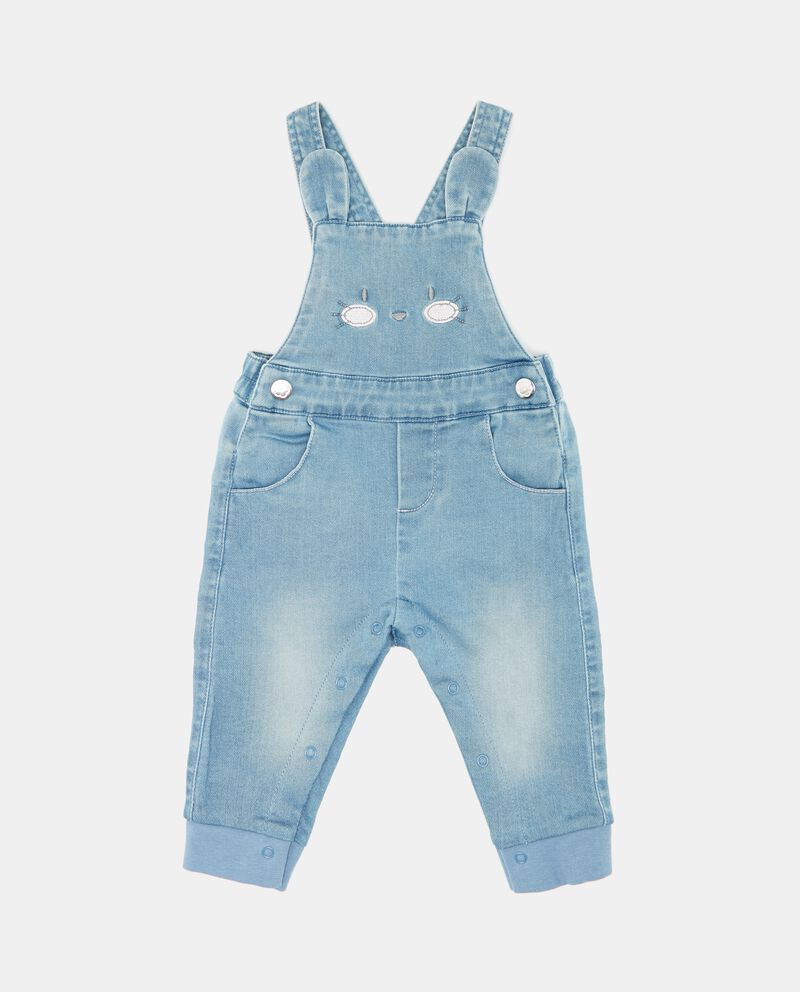 Salopette denim neonata