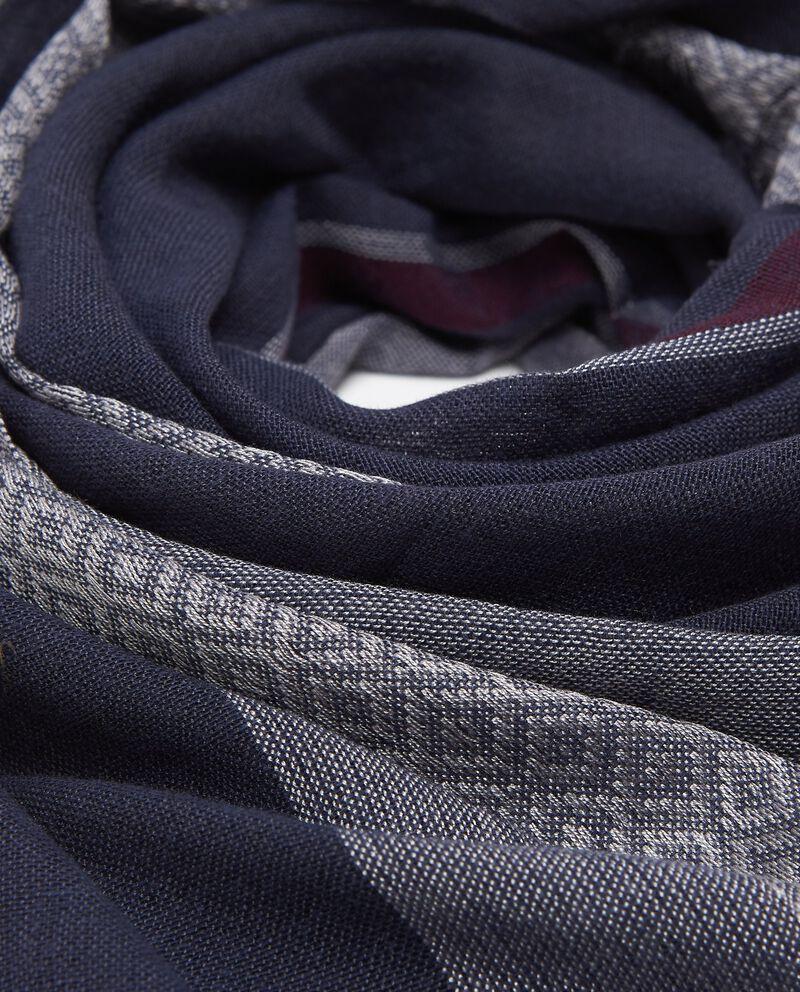 Sciarpa grigio argento