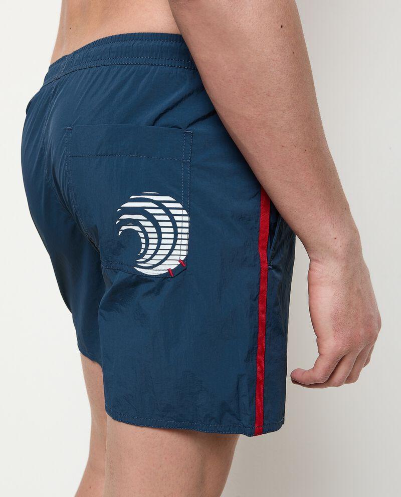 Costume shorts tinta unita uomo