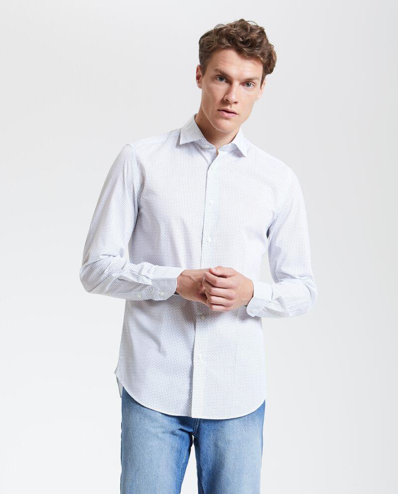 Camicia con fantasia micro uomo