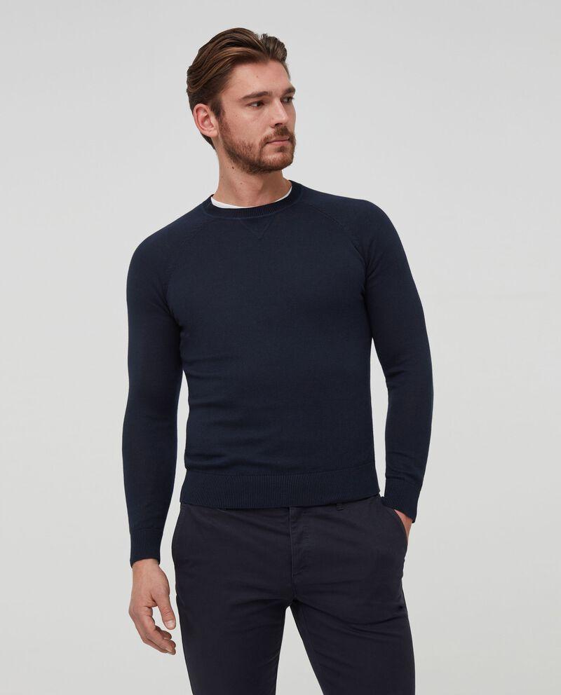 Pullover in puro cotone tricot
