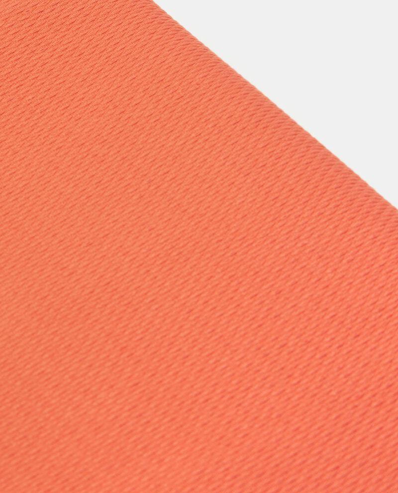 Copriletto tinta unita di puro cotone