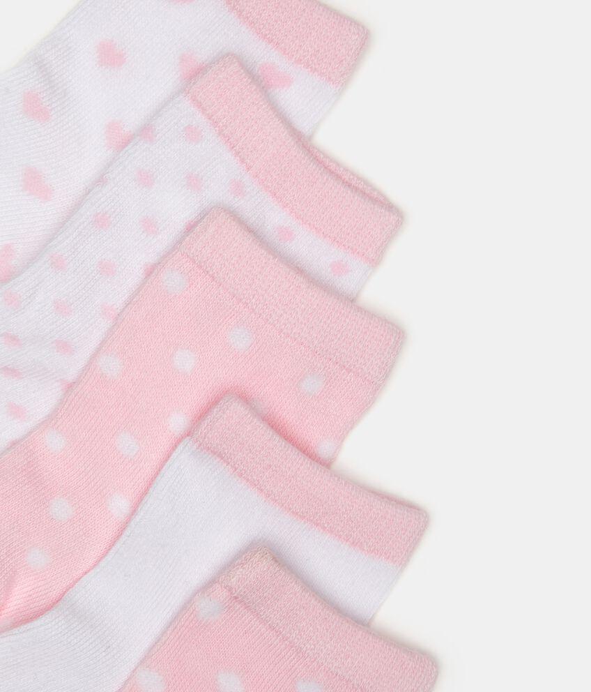Five pack calze corte neonata