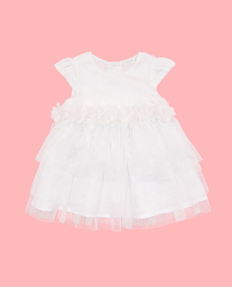 Vestitino con tulle neonata