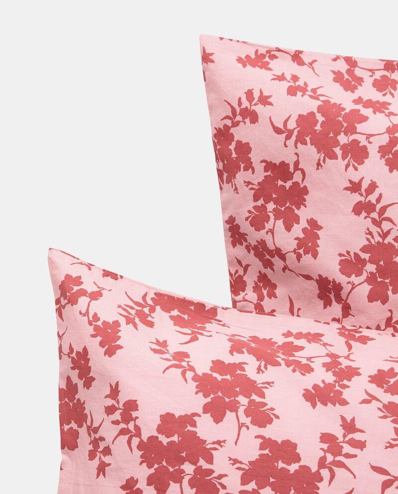 Parure letto cotone lavato rose