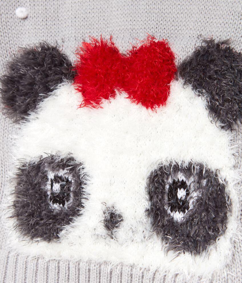 Maglioncino con panda bambina