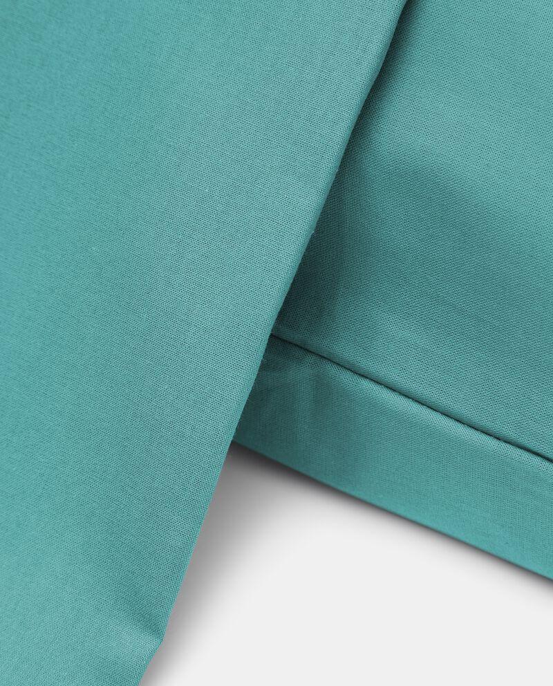 Parure lenzuolo tinta unita di puro cotone single tile 1