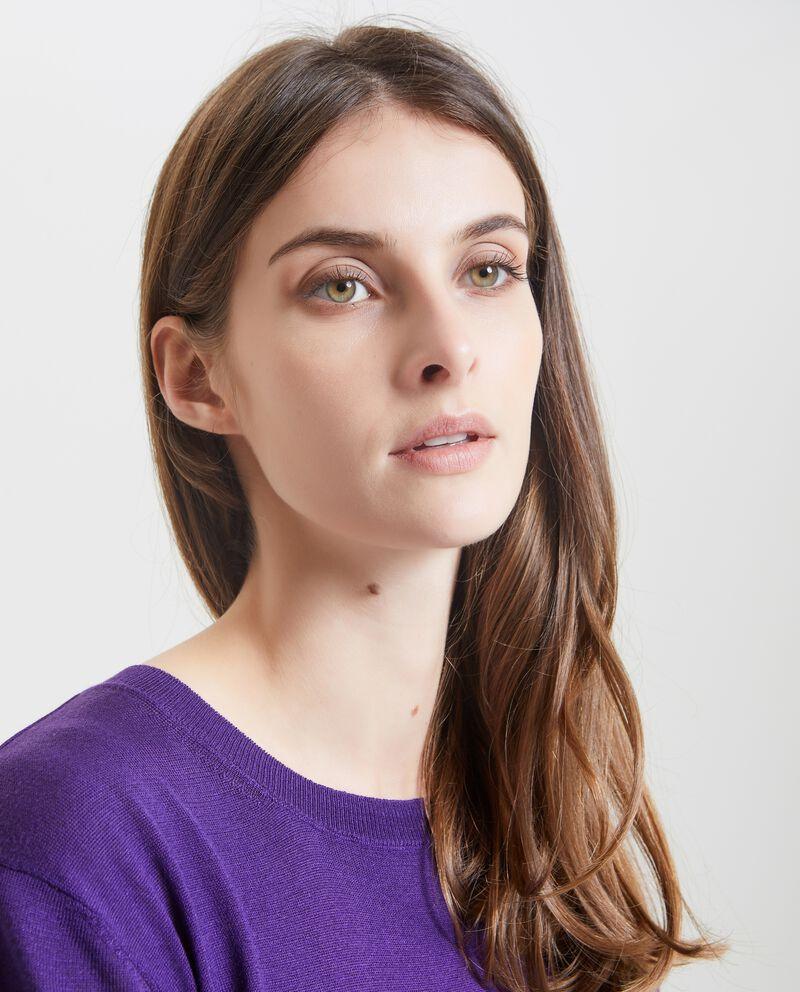 Maglione in tinta unita donna