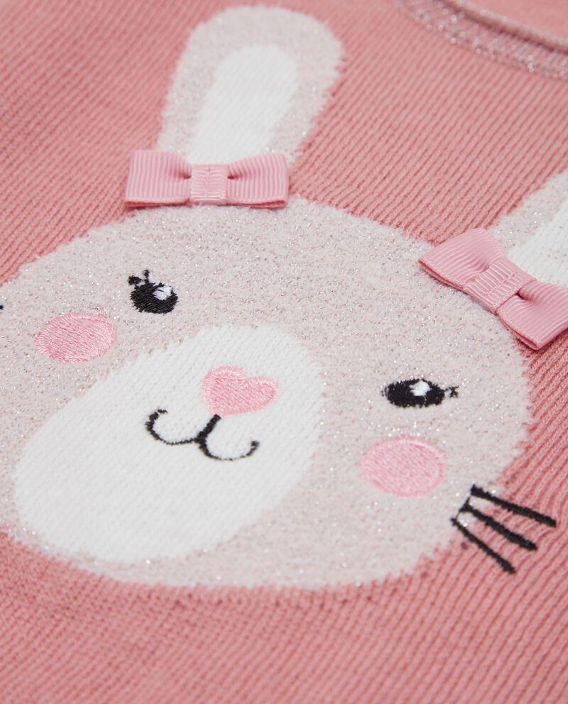 Maglione con coniglio neonata