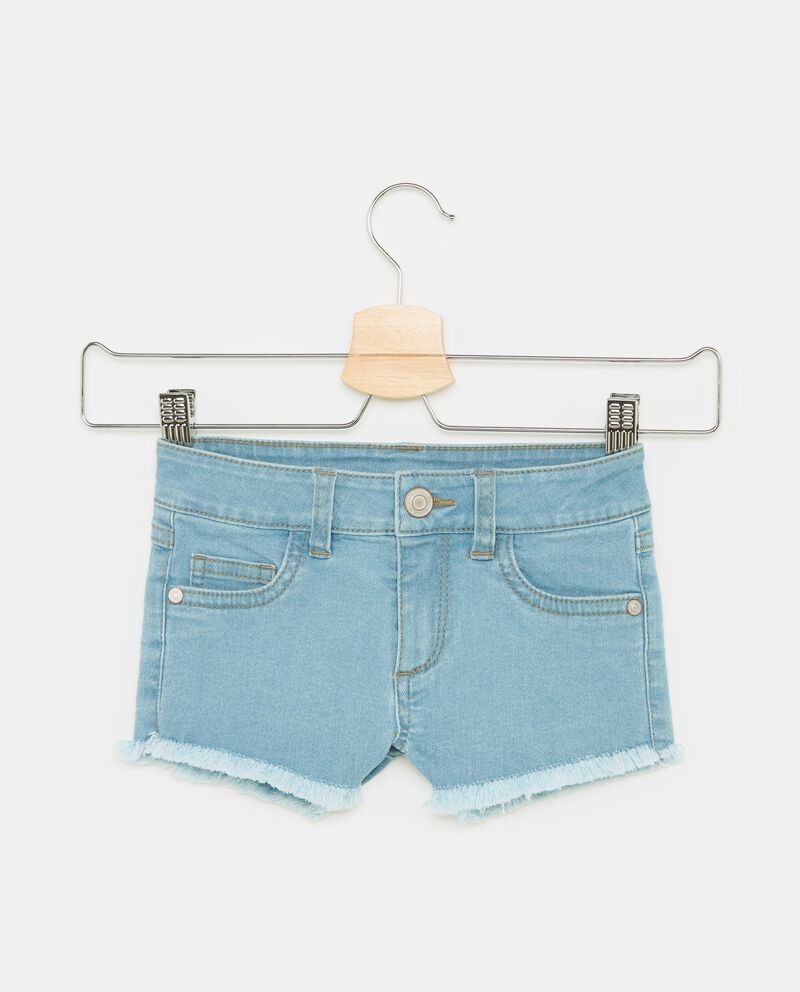 Shorts sfrangiati cinque tasche bambina