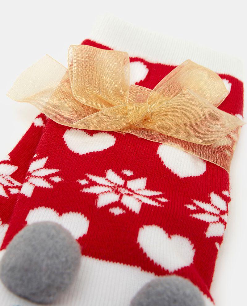 Calzini con disegni natalizi bambina