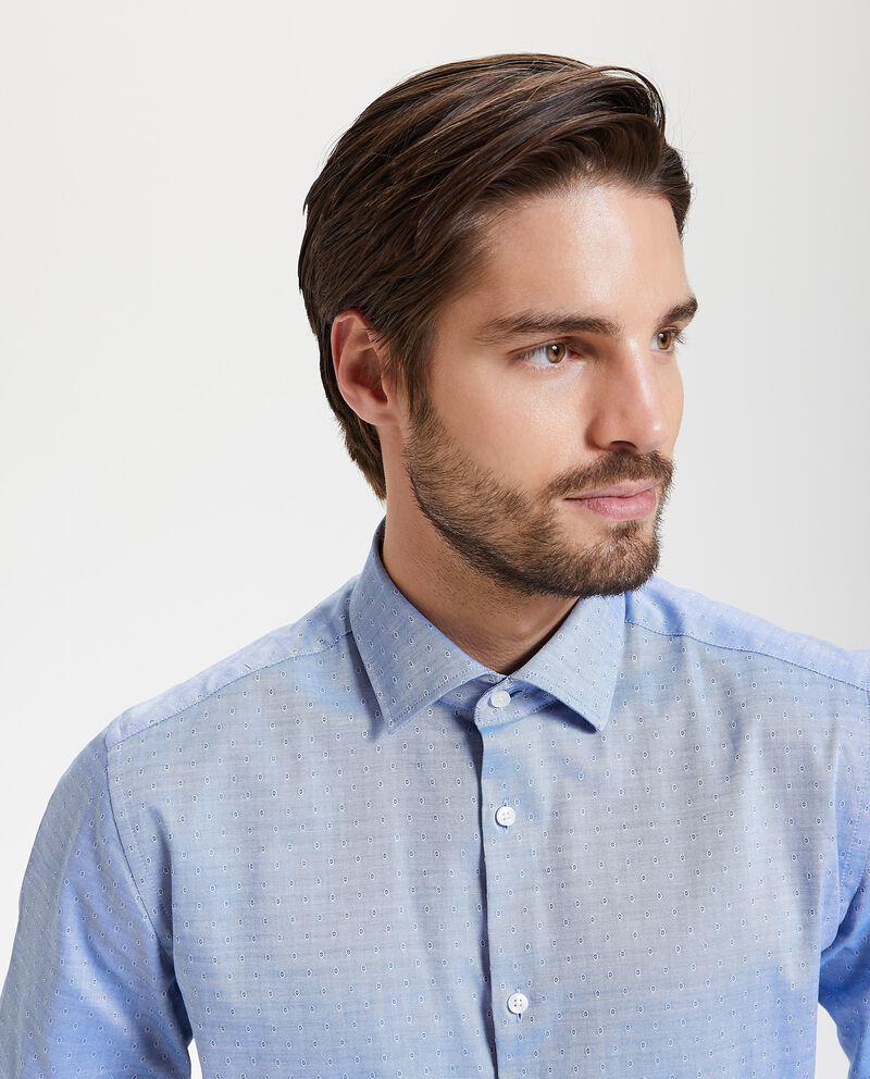 Camicia in puro cotone regular fit uomo cover