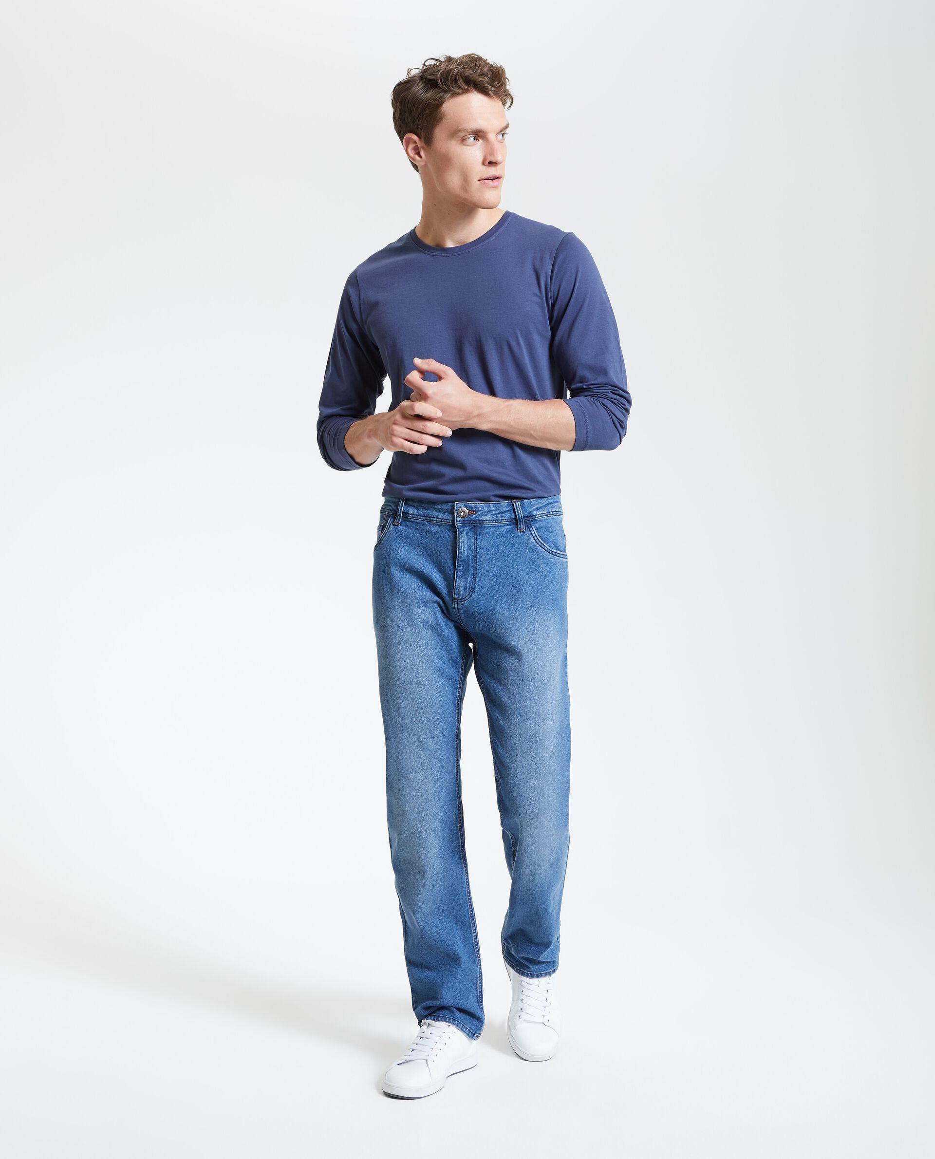 Jeans regular cinque tasche uomo