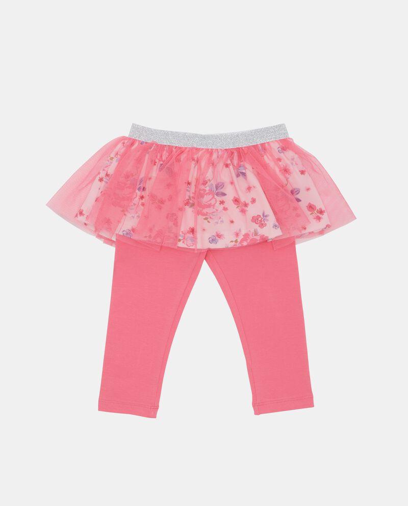 Leggings skirt neonata