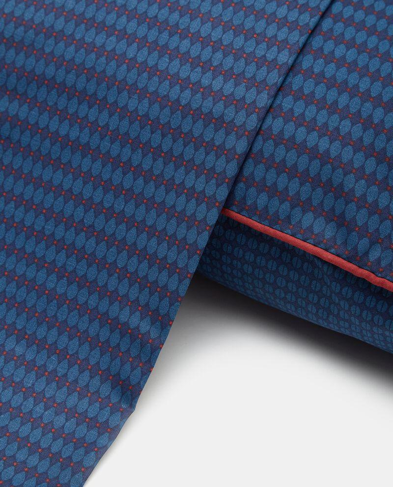 Lenzuolo con stampa dots puro cotone single tile 1