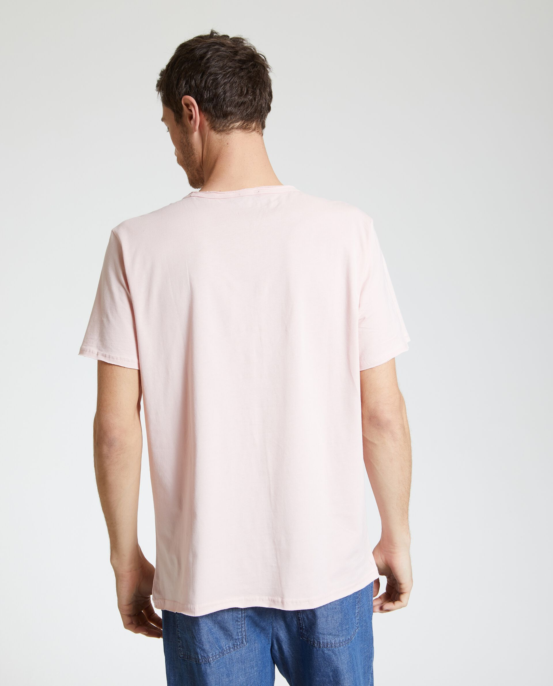 T-shirt in puro cotone stampata uomo