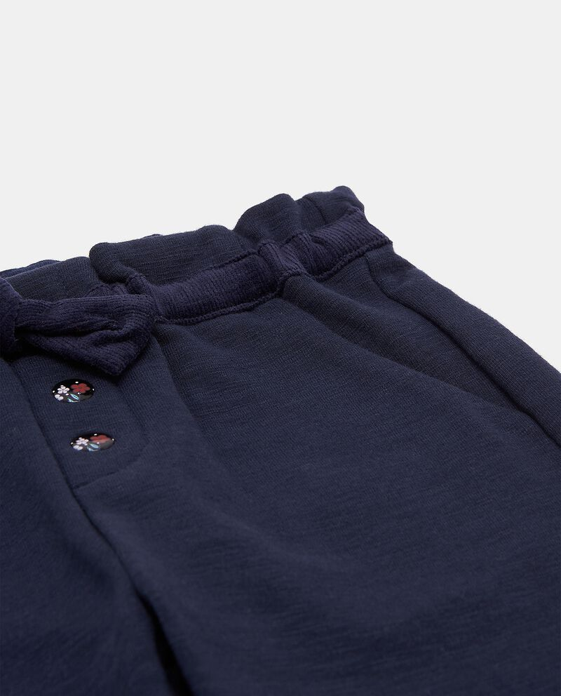 Pantaloni con cordoncino in vita neonata