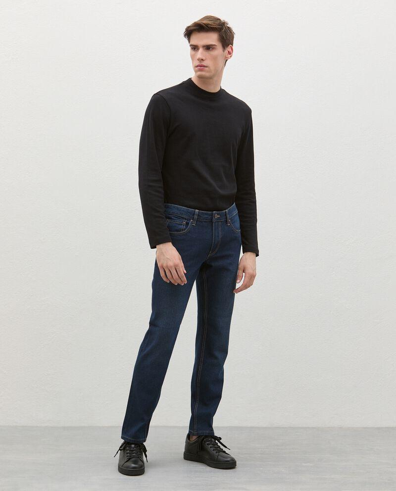 Jeans fit slim uomo cover
