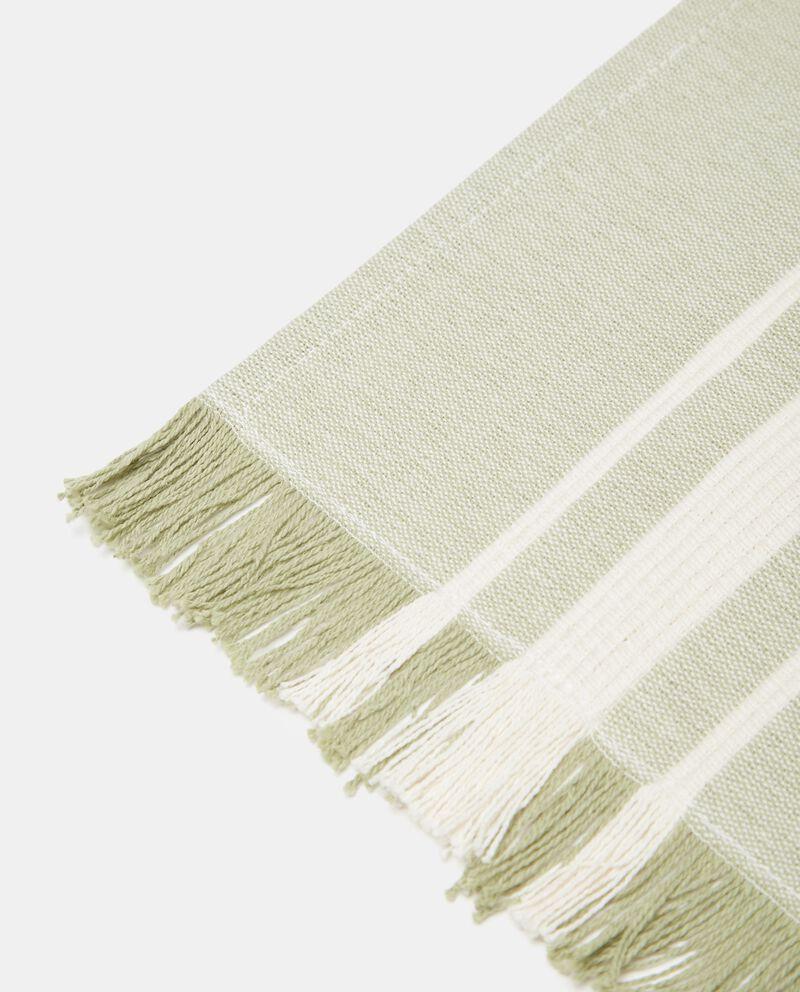 Tovaglietta bio a righe in puro cotone