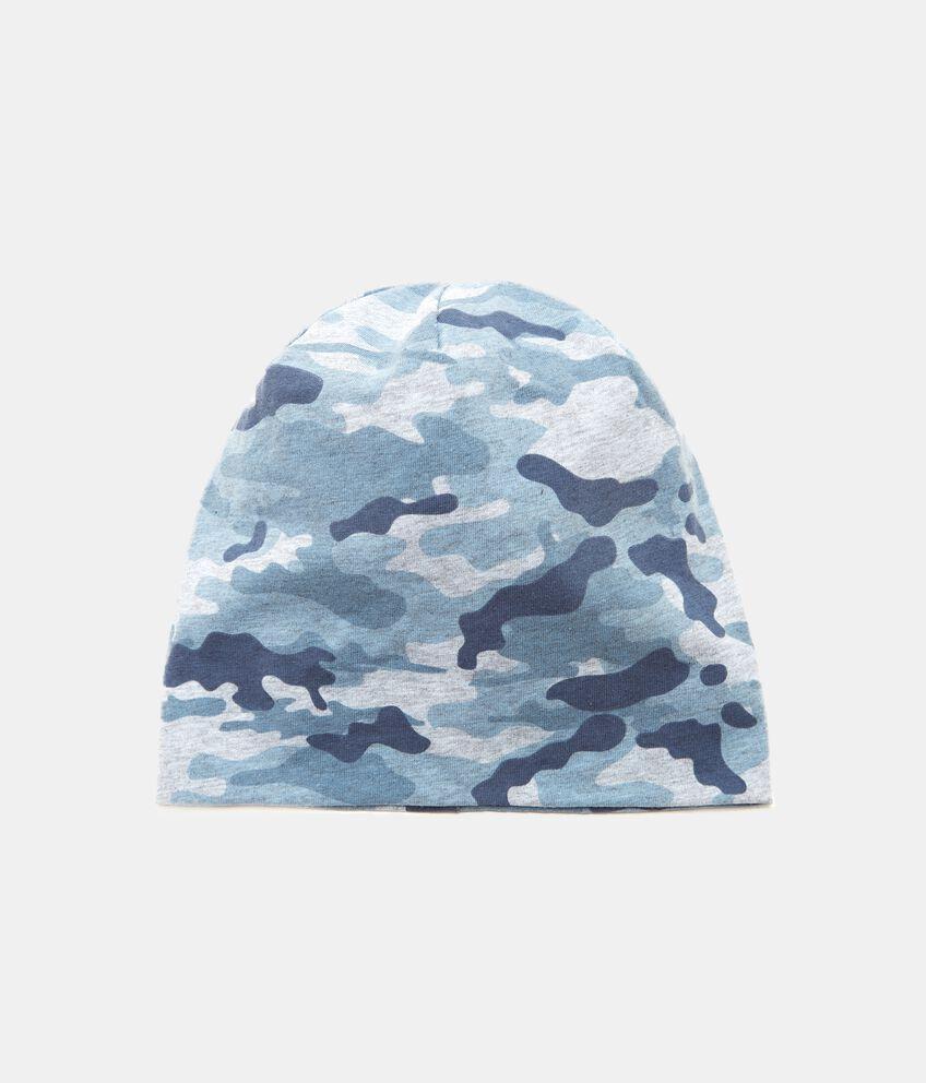 Cappellino in fantasia militare