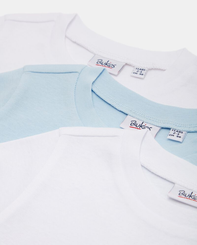 Pack con magliette intime in puro cotone