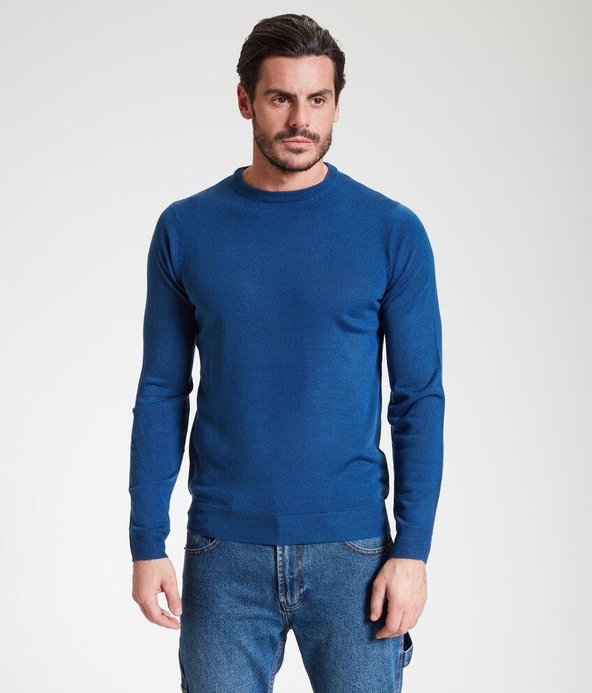 Pullover classico girocollo uomo double 1