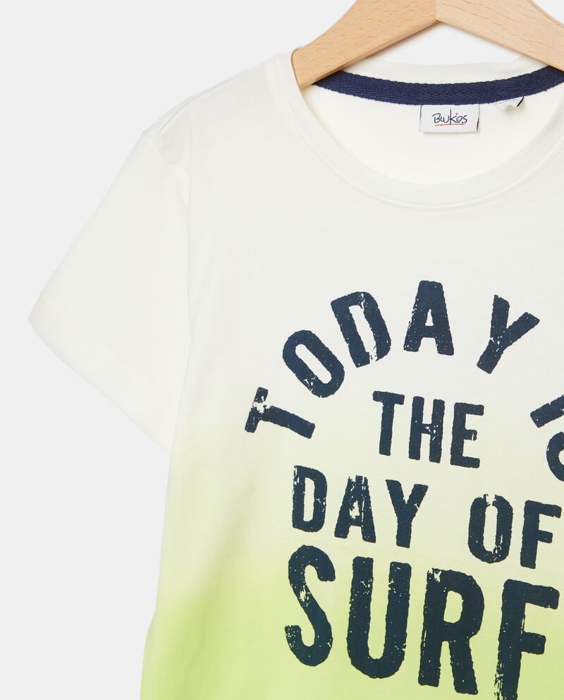 T-shirt in puro cotone effetto degradé bambino