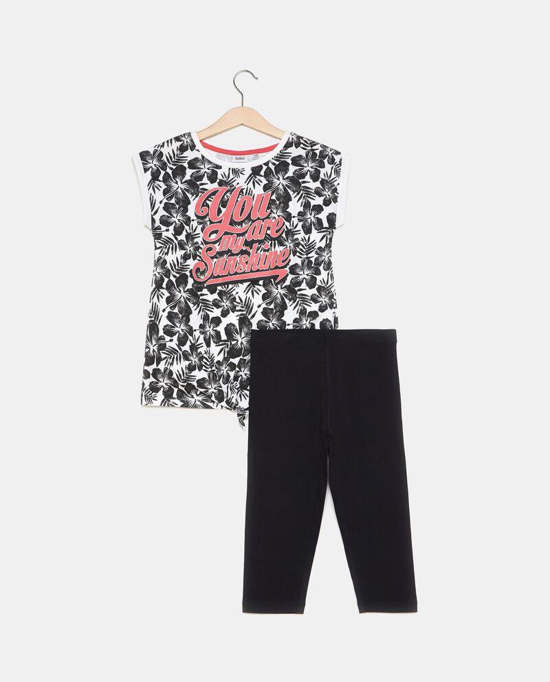 Set jogging t-shirt e leggings