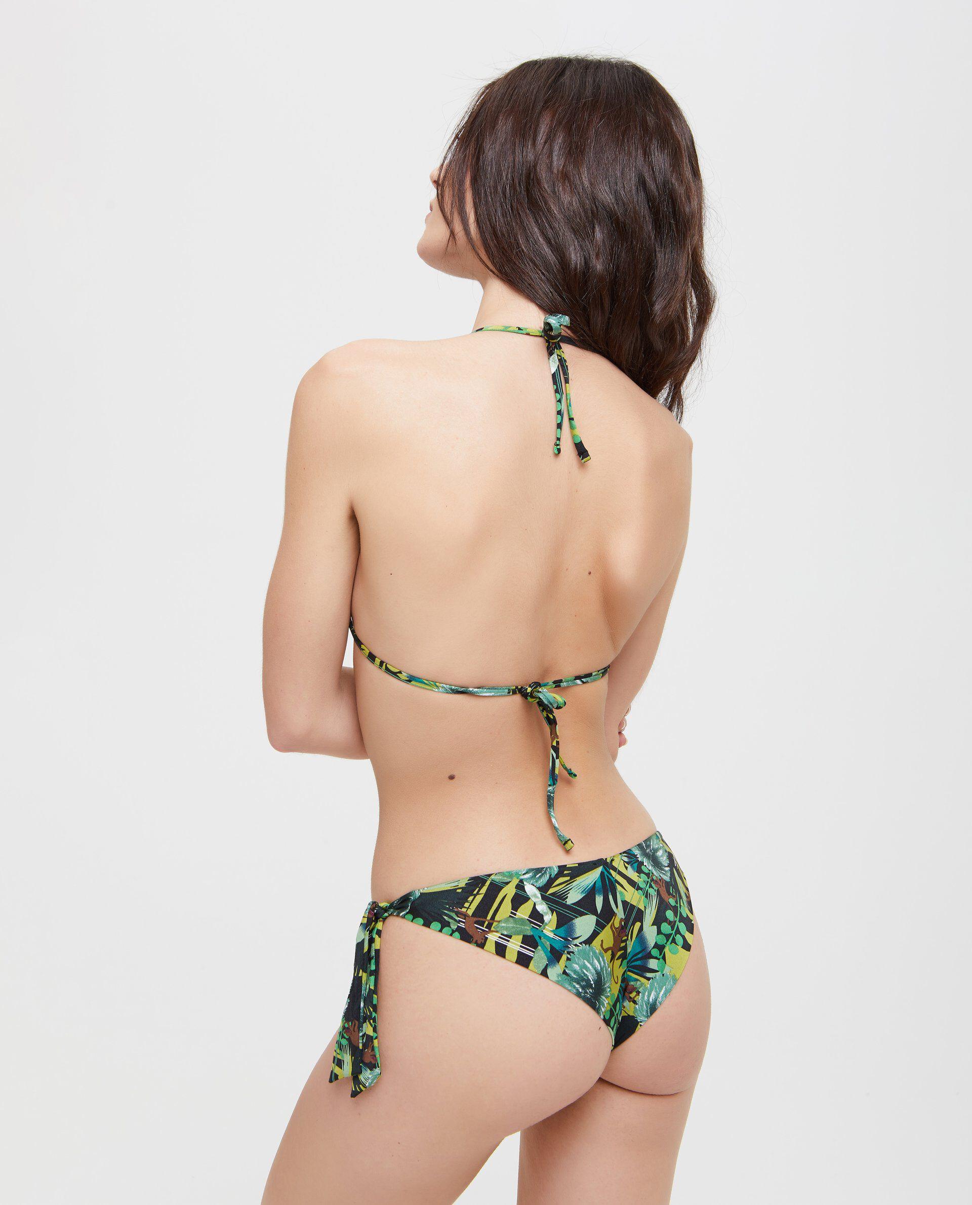 Top Bikini a fantasia tropicale