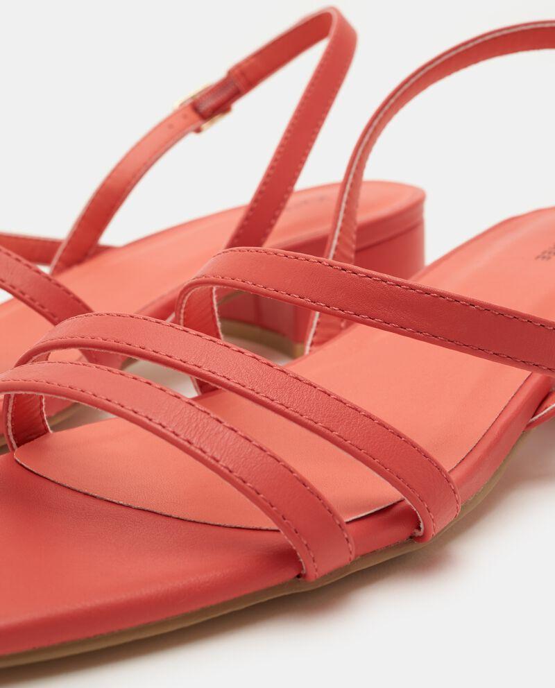 Sandali con punta squadrata donna