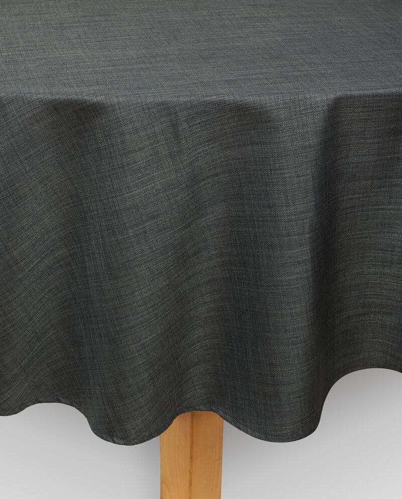 Tovaglia per tavolo rotondo effetto lino