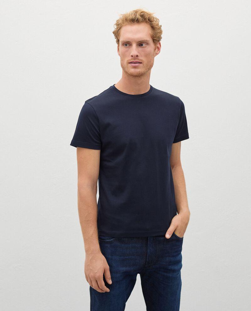 T-shirt Fitness in puro cotone uomo cover