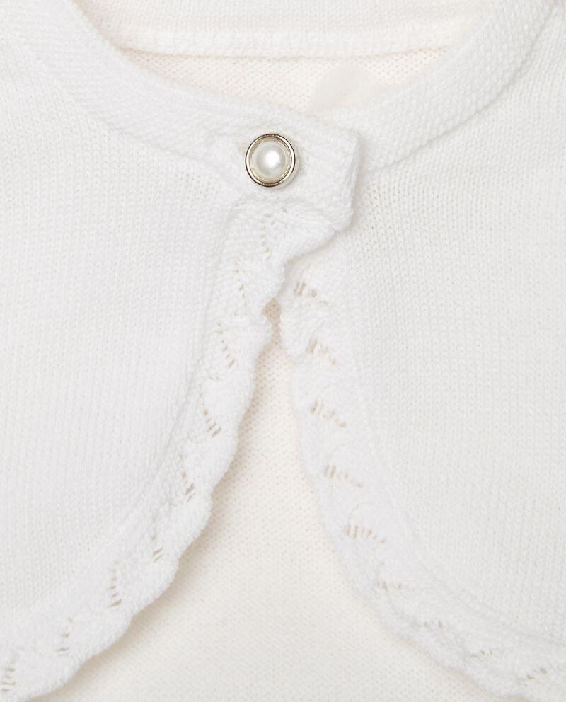 Scaldacuore in puro cotone con rouches single tile 1