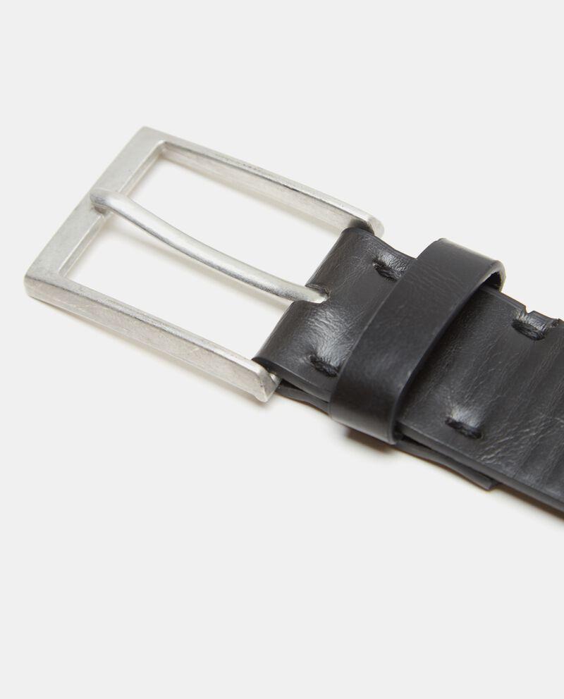 Cintura con effetto similpelle uomo