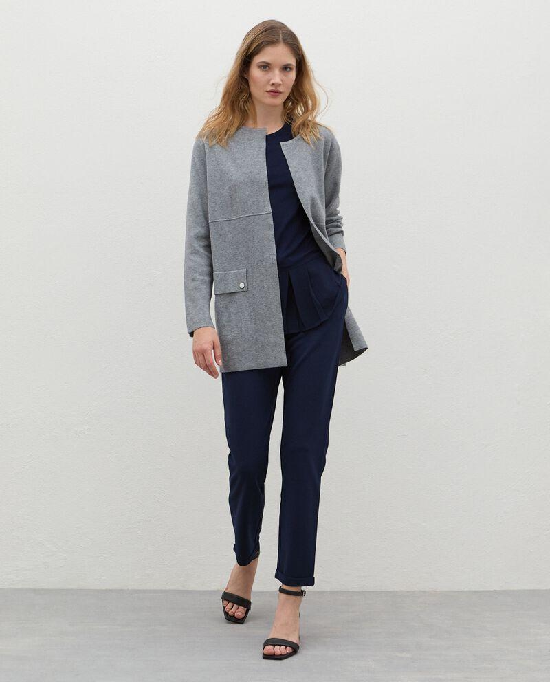 Cappotto con tasche donna cover