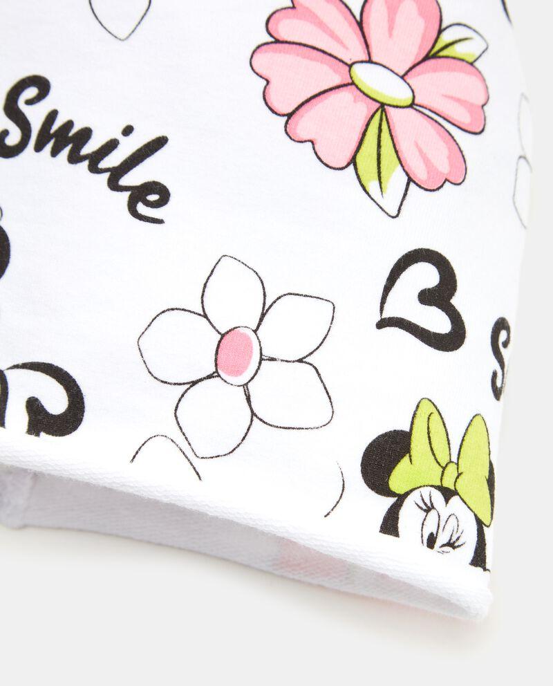 Cappellino con stampa Minnie