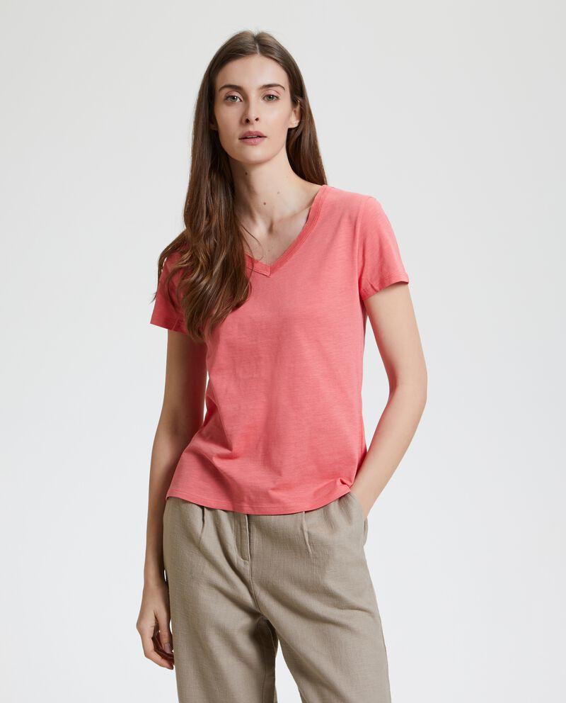 T-shirt in puro cotone single tile 1