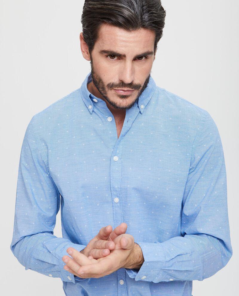 Camicia puro cotone micro quadri