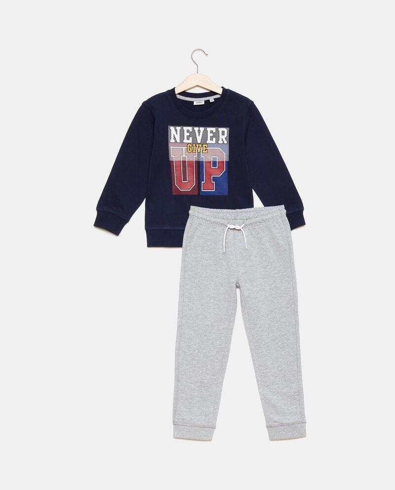 Set felpa e pantaloni bambino