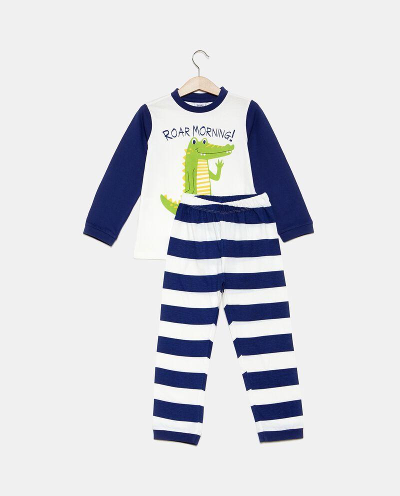 Set pigiama con t-shirt stampata e pantaloni bambino