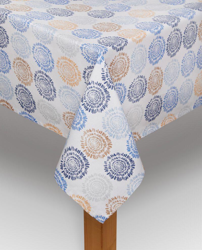 Tovaglia stampa fiori in puro cotone cover