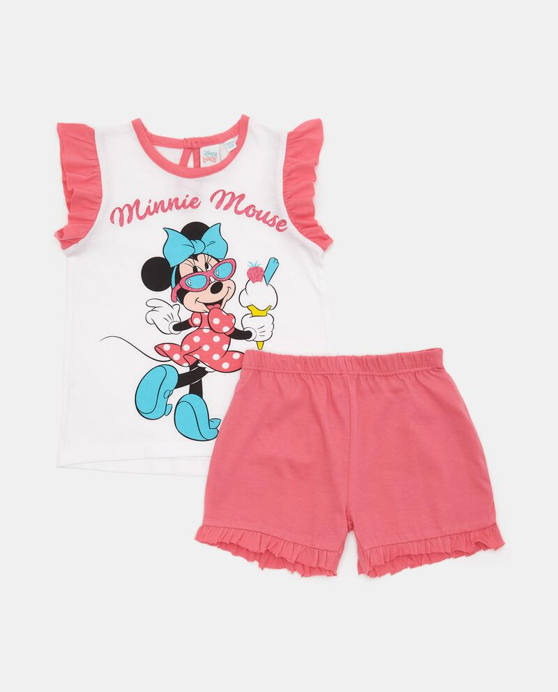 Set pigiama Minnie in puro cotone neonata