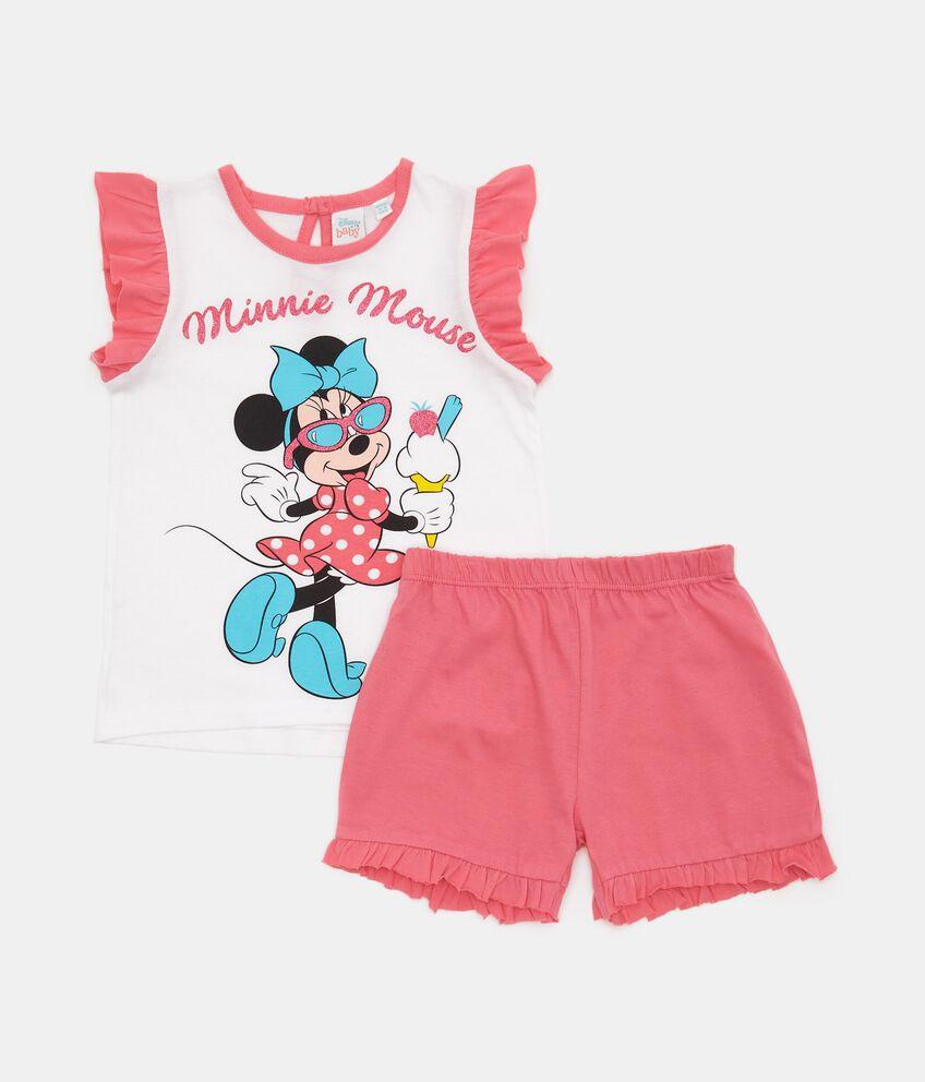 Set pigiama Minnie in puro cotone neonata
