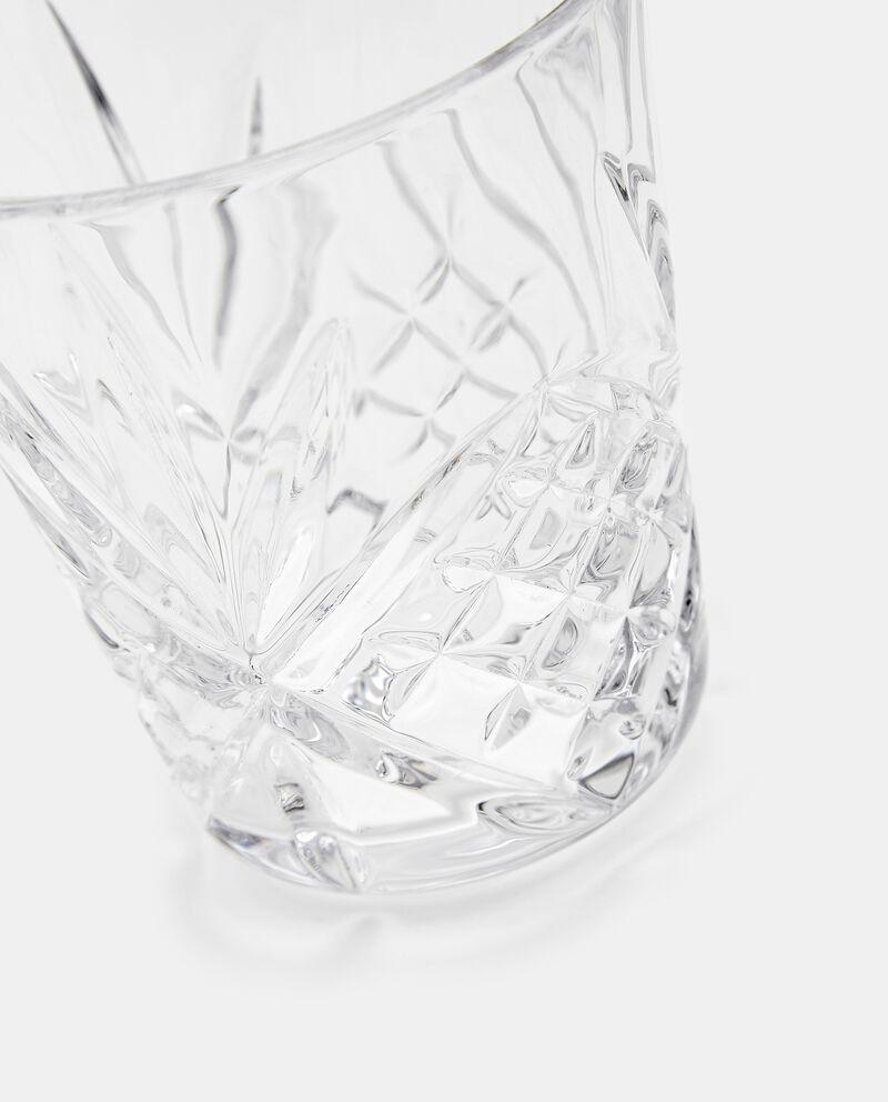 Bicchiere con rilievi in vetrodouble bordered 1