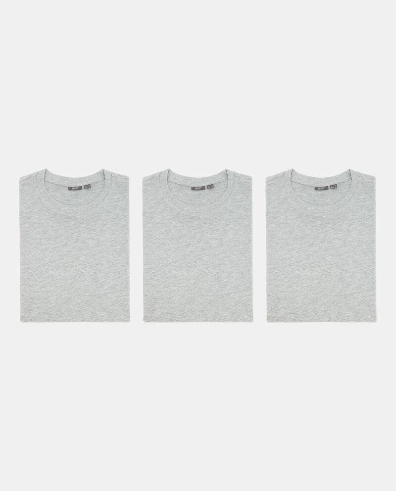 Set t-shirt intime in misto cotone uomo