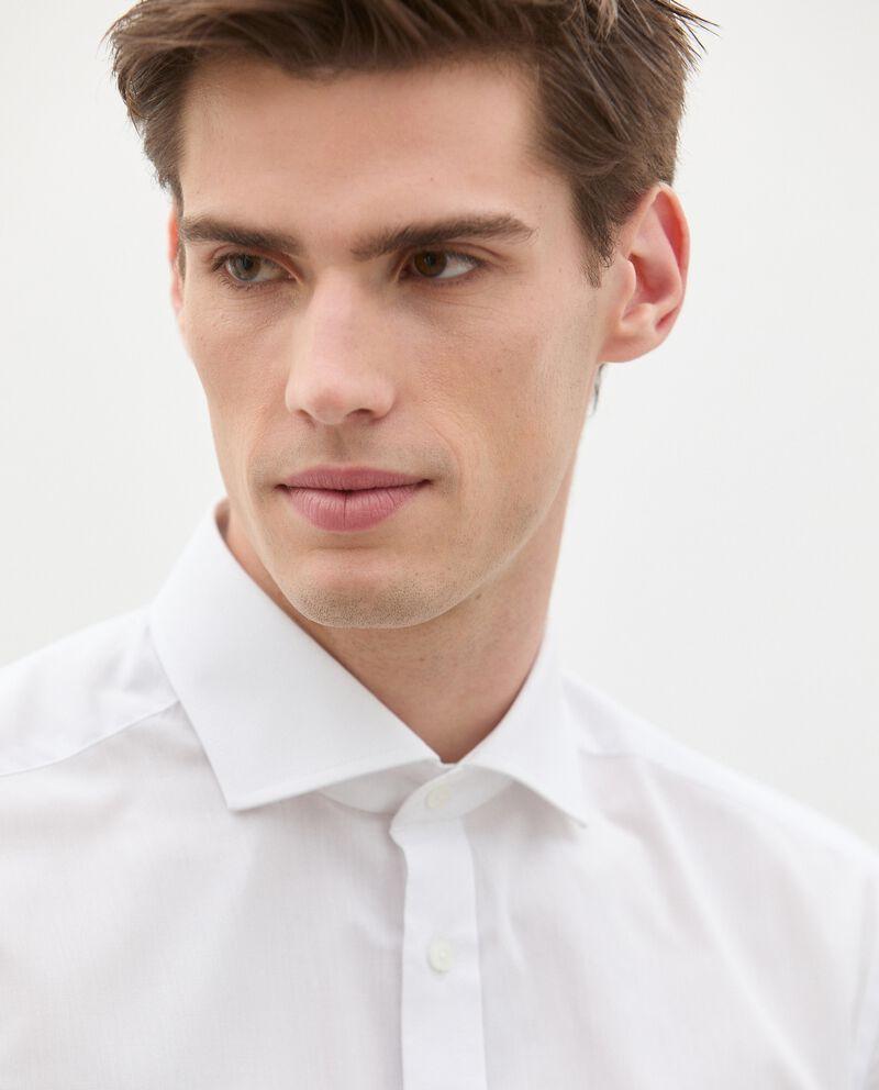 Camicia in cotone tinta unita uomo single tile 2