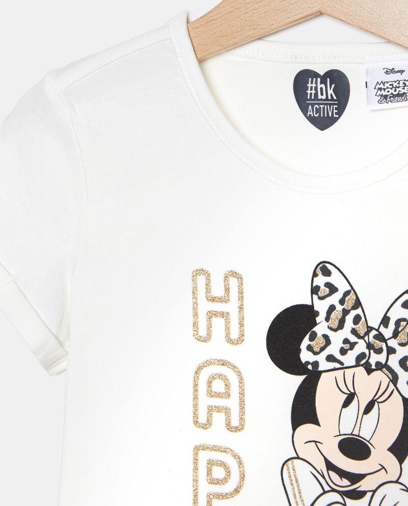 T-shirt a maniche corte Minnie bambina