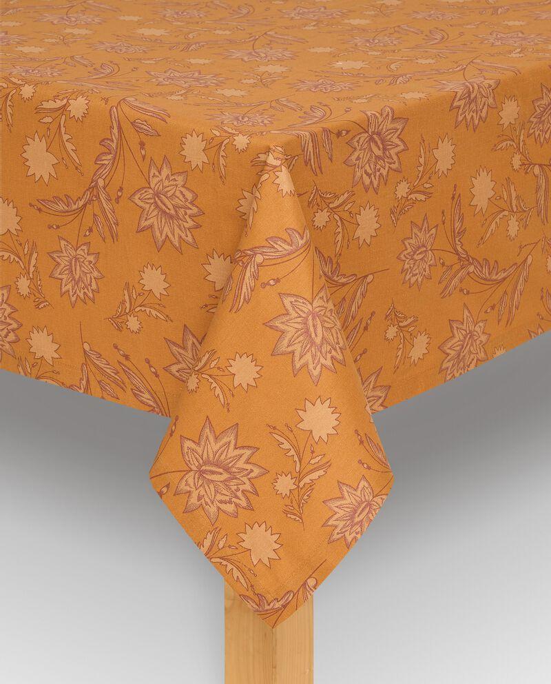 Tovaglia con stampa floreale di puro cotone cover