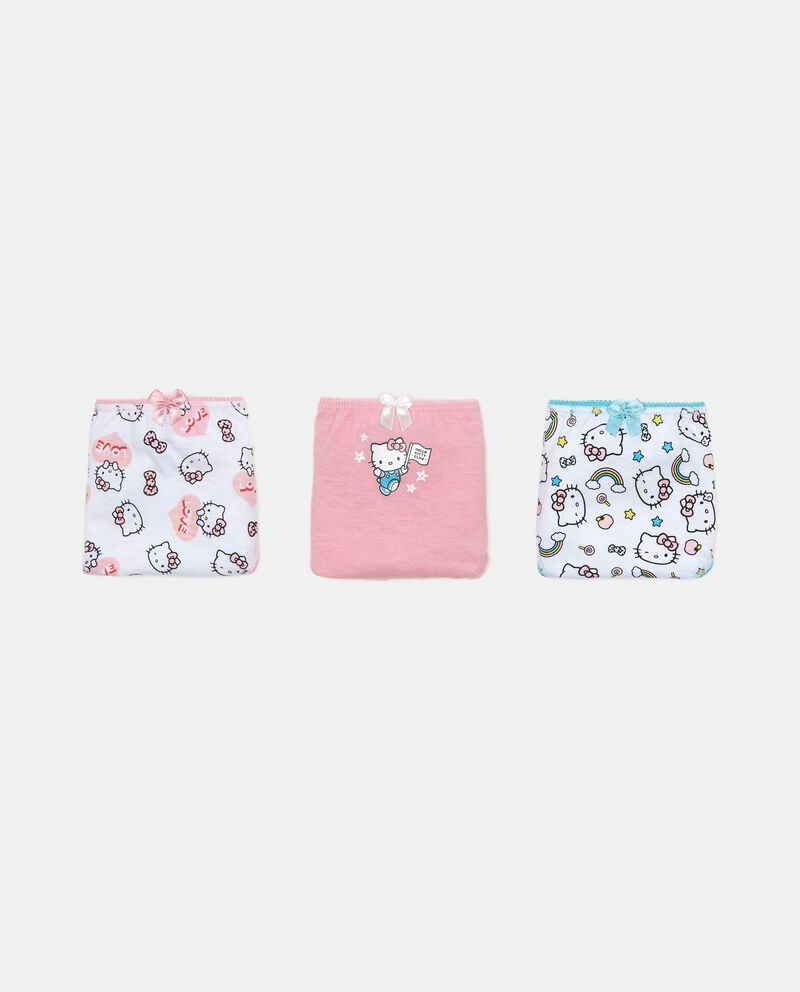 Set tre slip puro cotone Hello Kitty